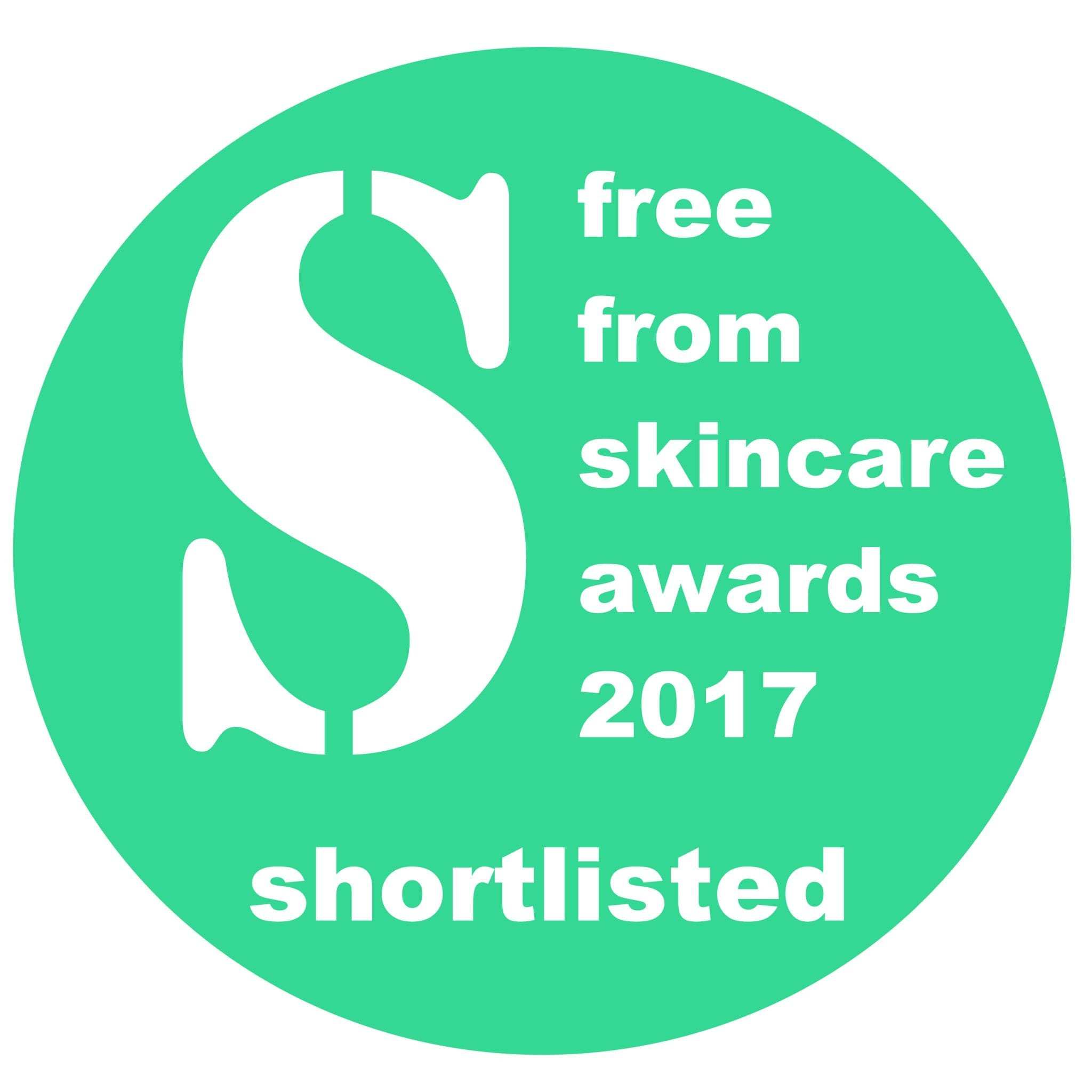 Bee Loved Shortlisted In The Free From Skincare Awards 2017