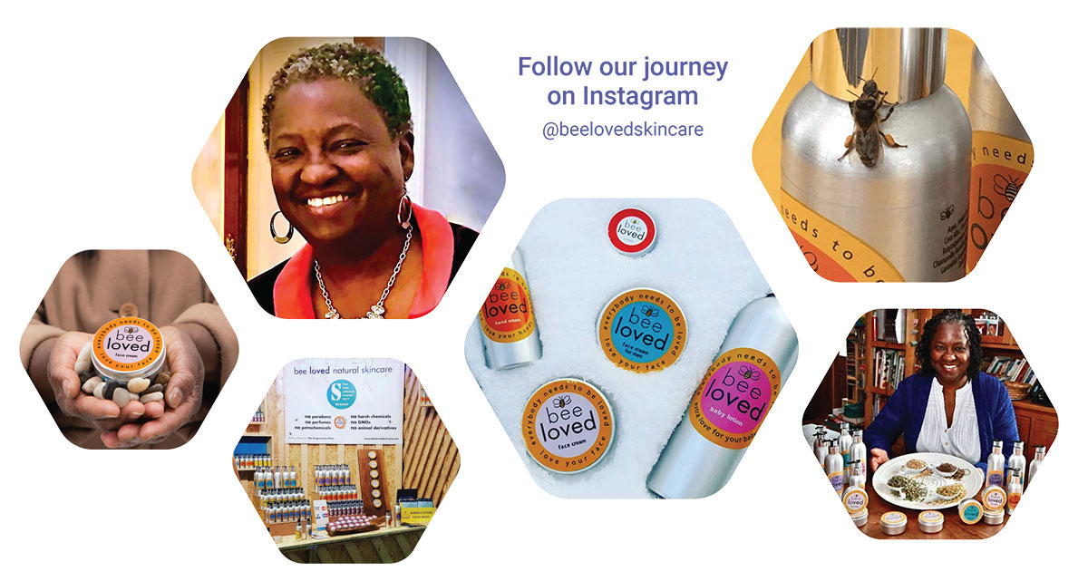Bee Loved Natural Skincare Products - Follow our journey on Instagram @ beelovedskincare
